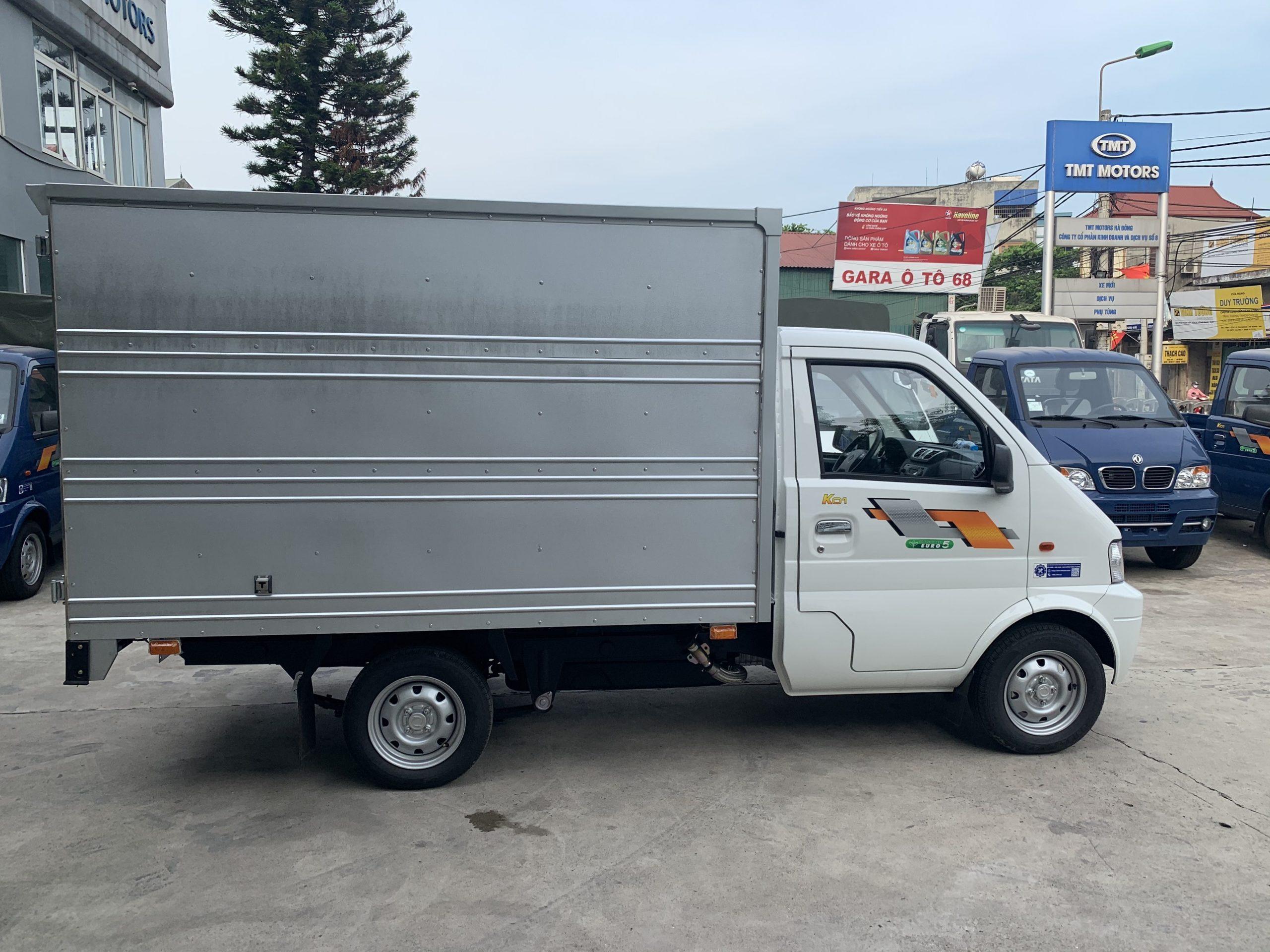 xe k01 thùng kín