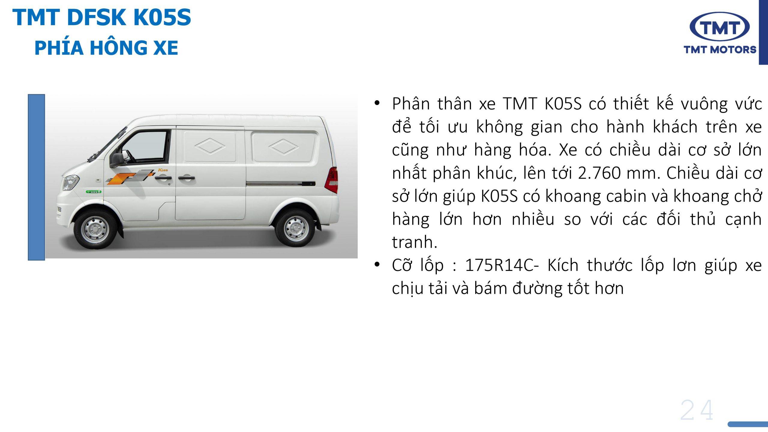 TMT K05S 2 chỗ
