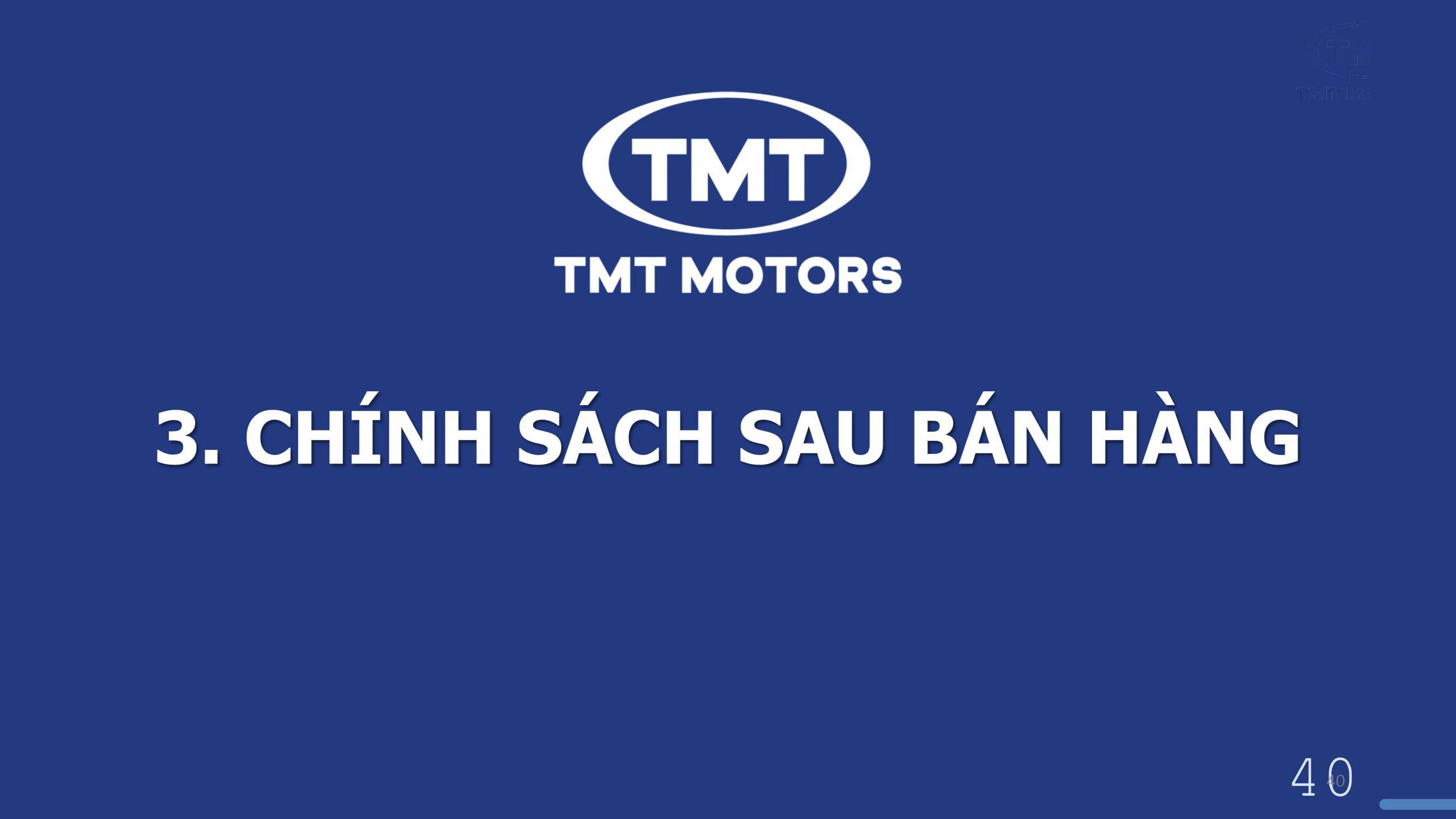 sau bán hàng TMT K05s