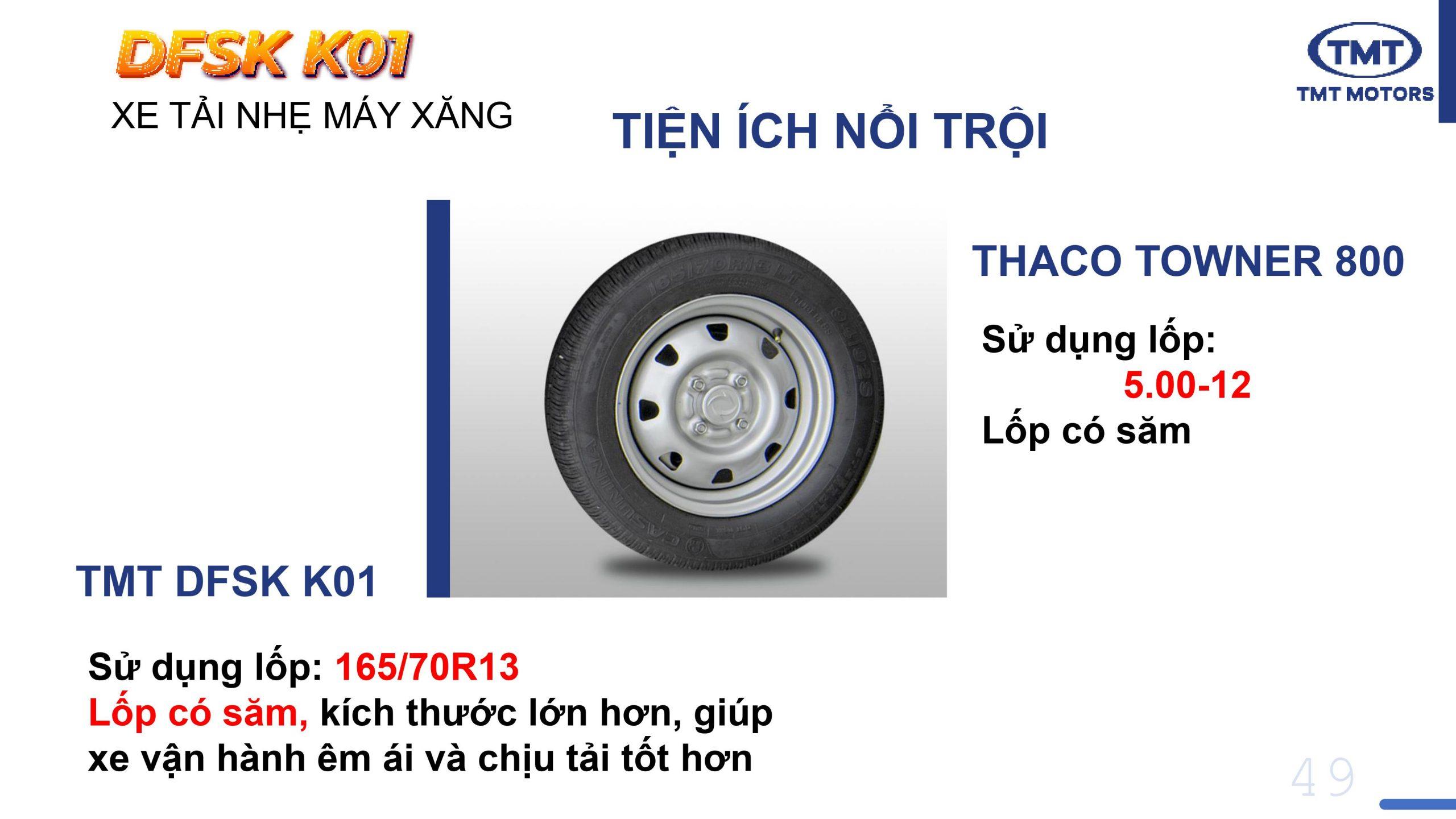 Lốp TMT K01