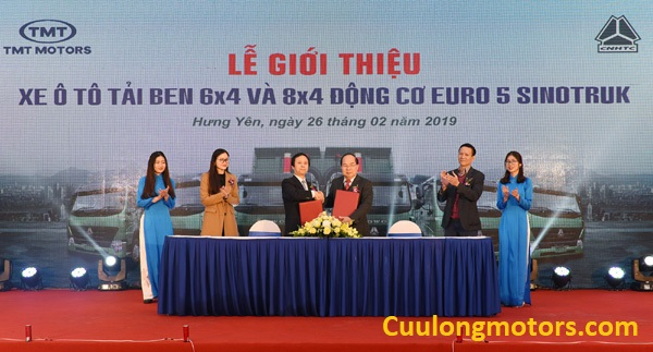 Lễ ký kết TMT Motors - Howo Sinotruk